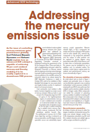 CORMETECH SCR Catalyst Addressing the Mercury Emissions Issue
