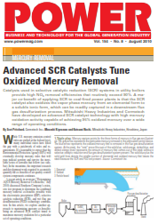 Advanced SCR Catalysts Tune Oxidized Mercury Removal