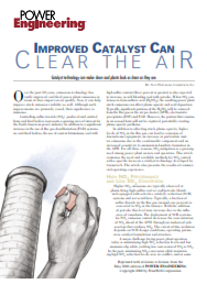Improved SCR Catalyst Can Clear the Air