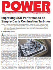 Improving SCR Performance on Simple-Cycle Combustion Turbines