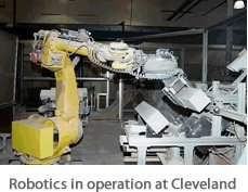 Robotics in operation at Cleveland